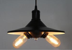 China Vintage Loft Industrial Lighting Bongrace Two Lights Pendant Lighting on sale