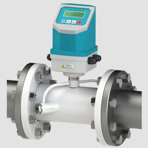 China 4-20mA Output Flange Mounting RS485 Ultrasonic Water Flow Meter on sale