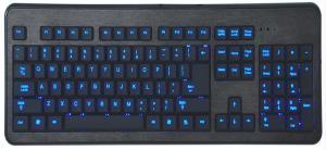 China High End Desktop Multimedia Top Wireless Gaming Keyboard Human Design on sale