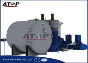 China Easy Installation Vacuum Coating Machine For Plastic Decoration Coating on sale