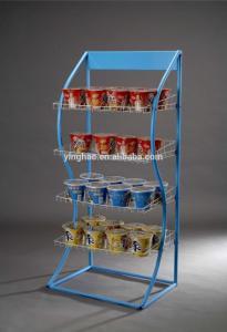 China hot sale custon-made metal food display stand - COCA Walmart all used it on sale