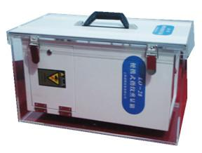 China Portable indene three ketone fuming fingerprint box on sale