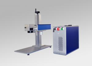 China Portable Mini Optical Fiber Laser Marking Machine with Competitive Price on sale