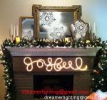 Iluminación de la Navidad decorativa de la luz de la cuerda del día de fiesta LED el 150ft