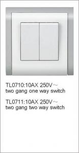 China Two Gang Switch on sale