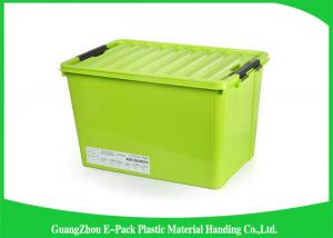 China Light Weight Leakproof Clear Storage Boxes Moving Storage Long Service Life on sale