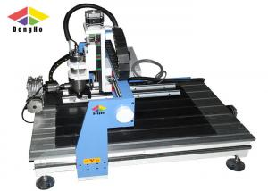 China 4 axis Rotary Axis Small CNC Milling Router Machine For Cylinder Carving on sale