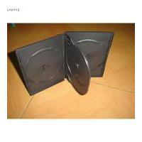 China 14m m para 4 discos ennegrecen la cubierta del DVD de la caja del DVD del CASO del DVD con la bandeja (YP-D8081b) on sale