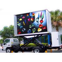 Mobile Trailer Mounted LED ScreenCar Advertising Video LED Display 8mm Pixel Pitch