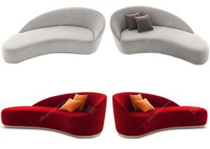 China Eco -  Friendly  Modern Hotel Lounge Chairs Relaxing Fabric Highly Endurable on sale