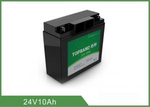 China Prismatic Deep Cycle Lithium Battery 24V 10Ah High Energy Density For Backup Power on sale