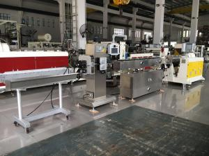 China Siemens Motor Single Screw Pvc Pipe Production Machine PU PE Medical Tube Extruson on sale