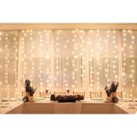 LED star effect stage lighting  white led stage lighting fairy wedding led star curtain
