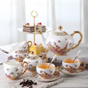 China 220cc Amorous Smooth Modeling English Bone China Tea Cups on sale