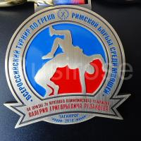 Personality metal medals custom, club competition honor medal custom, sports athletic badge medal production