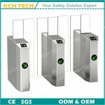 RS 485 House Building Facial Scanner Fast Sliding Barrier Gate for Crowd Control
