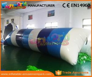 China 0.9mm PVC Tarpaulin Inflatable Water Trampoline Inflatable Jumping Pillow on sale
