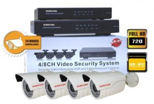 China HD SDI Security Camera NVR System Support Intelligent Video Analysis on sale