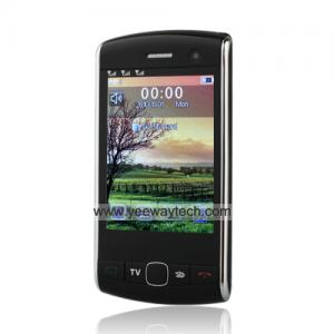 China Triple Sim Touch Screen Cell Phone with Bluetooth (Quad Band) on sale