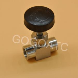China Shut Off Needle Valve High Pressure , 304 Stainless Steel Needle Valve Parts 1/8 1/4 1/2 on sale