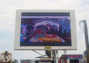 China High Brightness P25 Outdoor LED Advertising Screens Full Color on sale