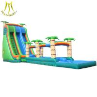 Hansel PVC material inflatables and used amusement park water slide for sale