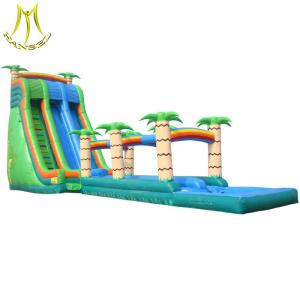 China Hansel PVC material inflatables and used amusement park water slide for sale on sale