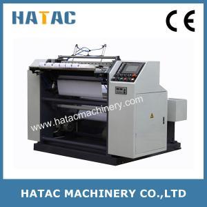 China Cash Register Bobbin Slitting Rewinding Machine,Bank Receipt Paper Roll Making Machine,Thermal Paper Slitting Machine on sale
