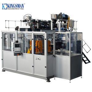 China 5L - 15L Jerry Can Blow Molding Machine , Servo Plastic Jerry Can Making Machine on sale