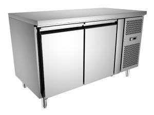 ... Quality Restaurant Under Counter Chiller 260L GN2100TN , Double Door  Under Counter Fridge For Sale