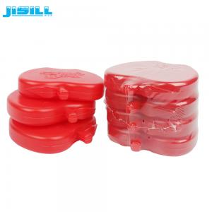 China Non-toxic SAP Cool Cooler Mini Gel Ice Packs For Frozen Food Apple Shape on sale