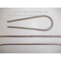 Supply jewelry steel foxtail chains for necklace and bracelet