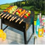 High Quality  Easy carry portable garden Tabletop charcoal bbq grill for 3 people