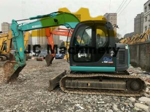 China 2014 Year Zero Tail Used Kobelco Excavator SK07 With Back - Fill Blade on sale