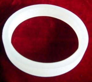 China high quality transparent  quartz  ring and  opaque  fused  silica  ring flange on sale