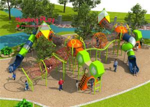 China Huge Magic Steel Net Rope Climbing Playground Equipment  For Children , Kids Climbing Apparatus on sale