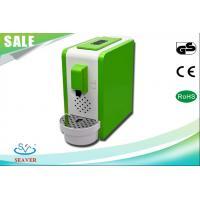 Pre - Brew Function Home Coffee Making Machine , Green Coffee Maker With Detachable Water Reservoir