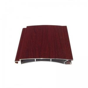 China Powder Coated Aluminium Door Frame Profiles Transfer Paiting ISO9001 OHSAS Certification on sale