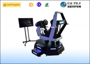 China Fiberglass VR Racing Simulator 9D VR Game Machine With Free Racing Game For Racing Club on sale