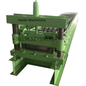 China Reliable Joint Hidden Roof Panel Making Machine With 4kw Power PLC Control wholesale
