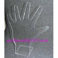 Acrylic ring display stand, clear PMMA hand shape finger ring display rack