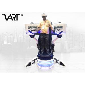 China VART 360 Degree Rotation VR Flight 9D Simulator CE Approved For Entertainment Park on sale