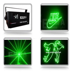 China 1W green 3D Animation Laser Light /Disco Laser Light/Stage Laser Light with SD Card on sale