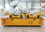 Customized Heavy Duty Steel Factory Battery Propelled Automatic Transfer Cart For Coils Handling