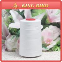 Raw White 50S/3 Sewing Machine Thread Chemical-Resistant for Industry