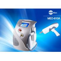 Protable Q - Switched ND YAg Laser Tattoo Removal Equipment With 1064nm / 532nm