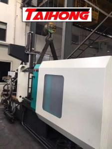 China Wet Type Auto Injection Molding Machine Horizontal Standard 1180-4000 Clamp Tonnage on sale