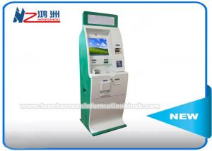 China Anti Peeping Lottery Ticket Vending Kiosk Machine Self Cash / Card Payment on sale
