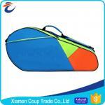 Adjustable Shoulder Strap Custom Sports Ball Bag Durable Zipper For Badminton