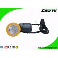 15000 Lux High Beam Mining Cap Lamp Miners Headlamp , Explosion Proof IP68